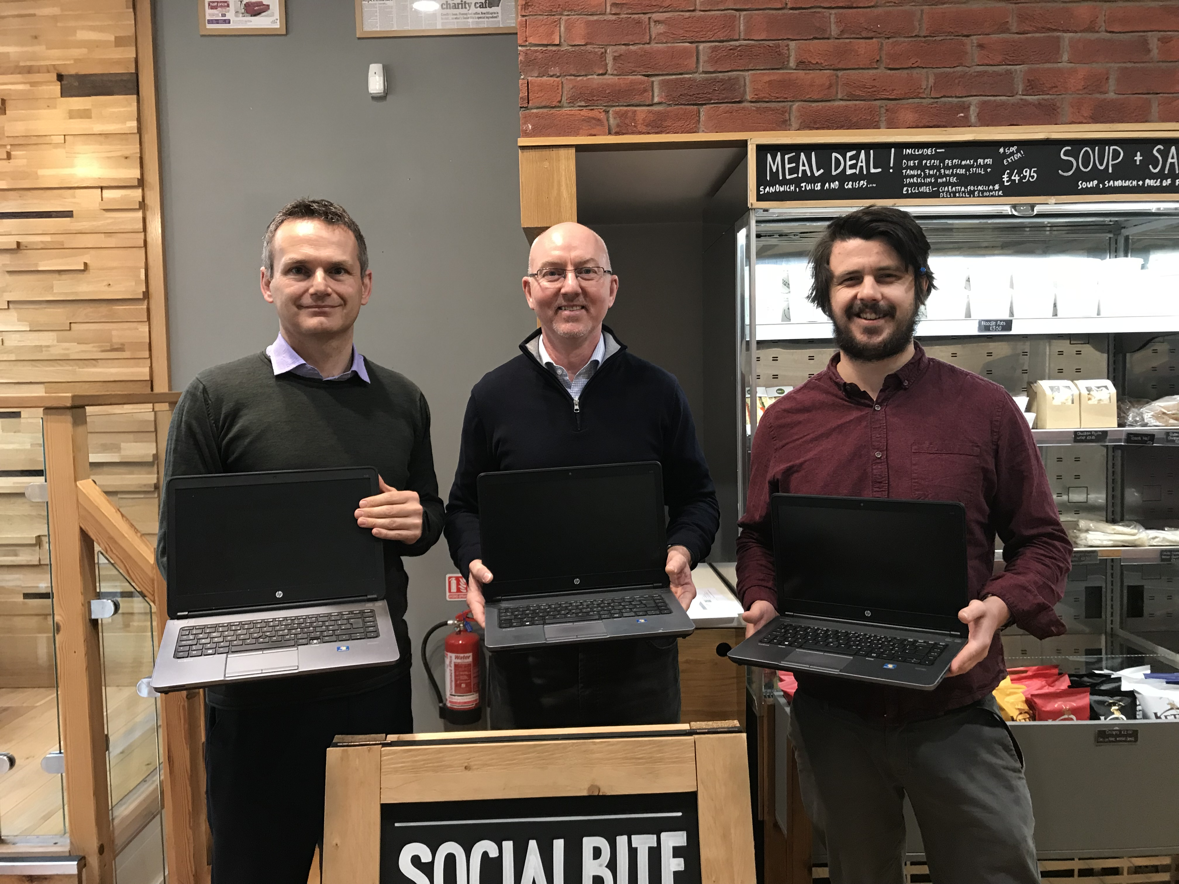 Digital Inclusion With Support From Re-Tek And Scott-Moncrieff