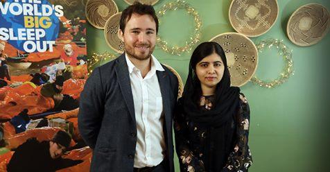 Social Bite Hosts Malala And A Big Announcement